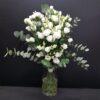 Lisianthus blanco 10 tallos