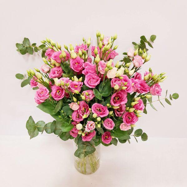 lisianthus color rosa