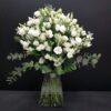 20 tallos de lisianthus blanco