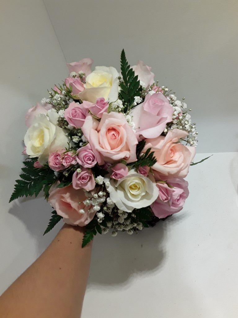 Ramo novia rosas de colores