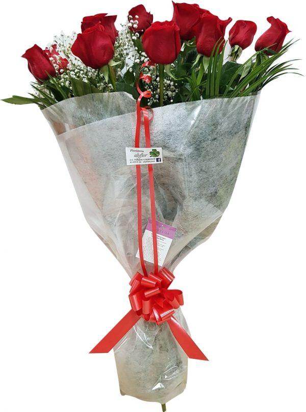 Docena rosas rojas