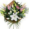 ramo de flores lilium mixto