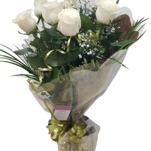 7 Rosas blancas