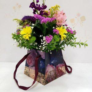 Cajita divine  con flores
