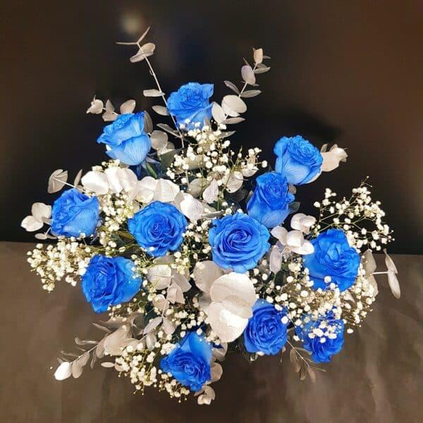 docena rosas azules