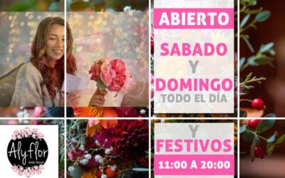 Floristería Torrejón de Ardóz abierto sabado y domingo